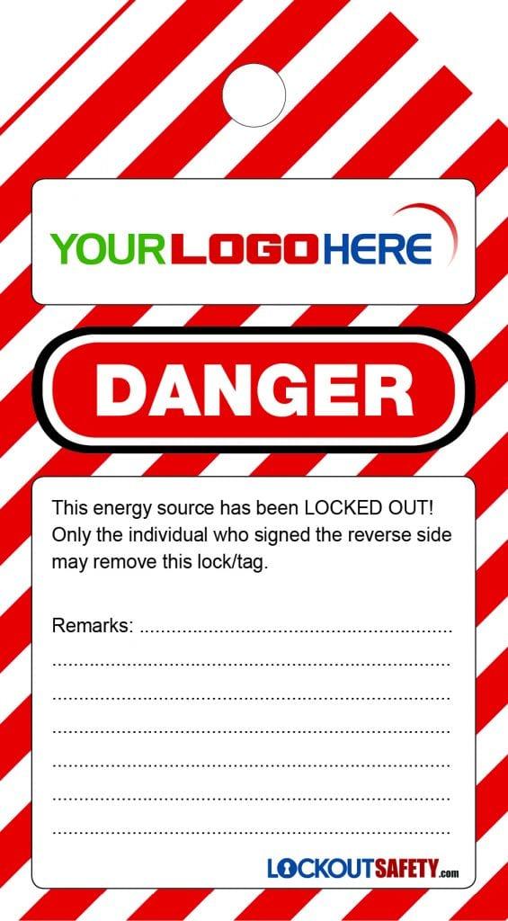 Abbvie Danger Do Not Operate Tags