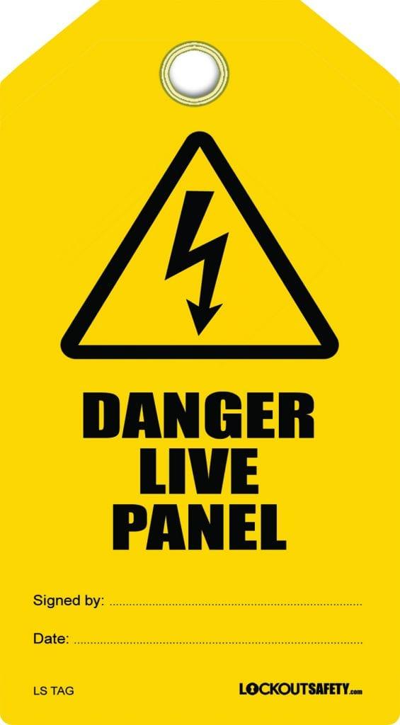 Danger Live panel tag