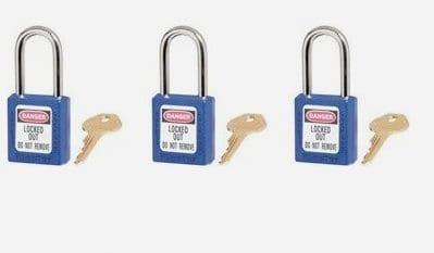 Keyed Different Padlock System (KD)