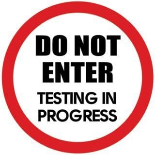 testing in pogress