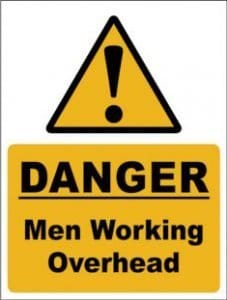 men working ahead