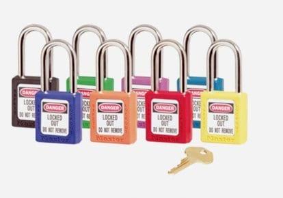 Customised Safety Padlocks