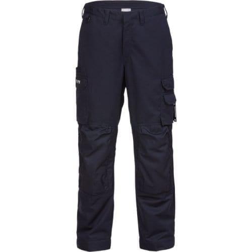FRIS 2144 FRISTADS Trousers 2144 ATHS Dark Navy