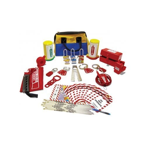 Lockout Safety Cylinder & Pneumatic Lockout Kit