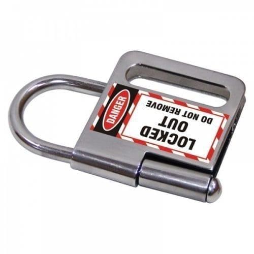 : Lockout Safety Heavy Duty Lockout Hasp - 3 Locks (25 mm diameter)
