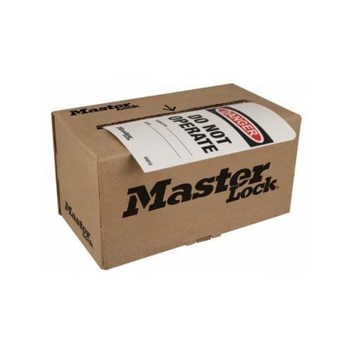 Master Lock Box of 100 Rolled Tags