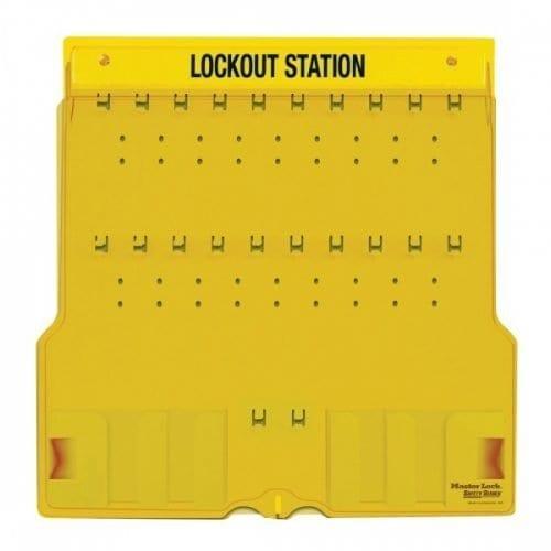 Master Lock Lockout Station Type1482B