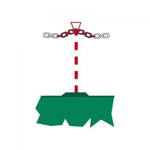 Sofamel Chain Support Post
