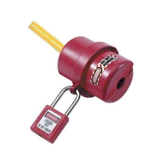 p 3290 Master Lock Large Round Electrical Plug Lockout