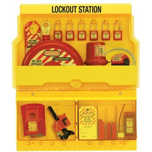 Lockout Stations & Padlock Stations